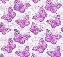 Butterflies pattern by olgart