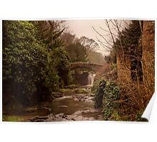 Old Mill in the Dene Poster