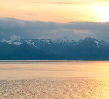 Alaskan Sunset by RolandArnold
