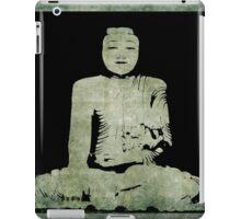 Green Tranquil Buddha iPad Case/Skin