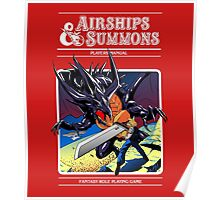 Airships & Summons Poster