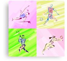 Sports illustrated Canvas Print