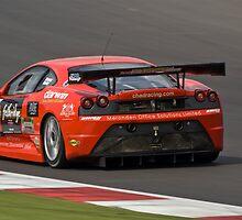 Chad Racing Ferrari No 10 by Willie Jackson