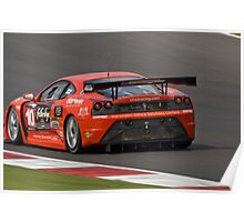 Chad Racing Ferrari No 10 Poster