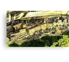 Mesa Verde 2000 jGibney The MUSEUM Zazzle Gifts RedBubble Canvas Print