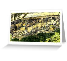 Mesa Verde 2000 jGibney The MUSEUM Zazzle Gifts RedBubble Greeting Card