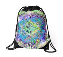 Abstract Colorful Tie Dye Drawstring Bag
