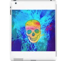 Blended Skull Design 1a iPad Case/Skin