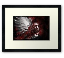 Falling to Pieces Framed Print