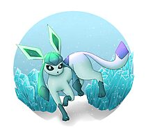 Glaceon Photographic Print