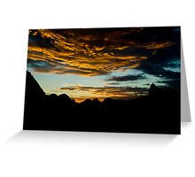 Sunset in Rio Greeting Card