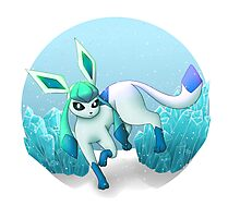 Shiny Glaceon Photographic Print