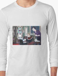 Late Lunch at 221B Baker Street Long Sleeve T-Shirt