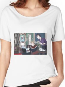 Late Lunch at 221B Baker Street Women's Relaxed Fit T-Shirt