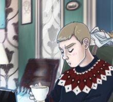 Late Lunch at 221B Baker Street Sticker
