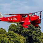 De Havilland DH.90A Dragonfly G-AEDU on finals by Colin Smedley
