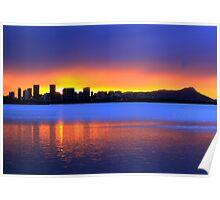 Honolulu Sunrise Poster
