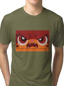 Angry Unikitty Tri-blend T-Shirt