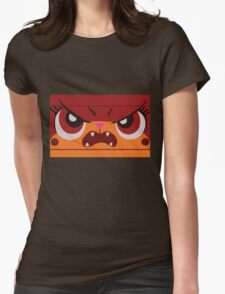 Angry Unikitty Womens Fitted T-Shirt