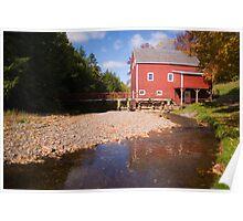 Balmoral Mill, Eastern Shore- Nova Scotia, Canada Poster