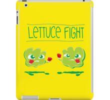 Lettuce Fight iPad Case/Skin