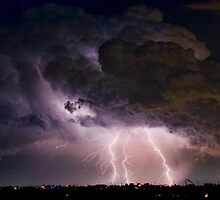Boulder County Lightning Striking Image 29 by Bo Insogna