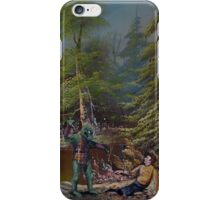 The Fight iPhone Case/Skin
