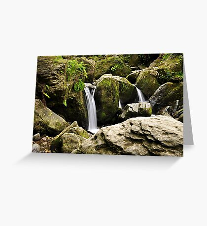 Torc waterfall. Greeting Card