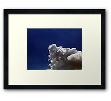 ©HCS Cumulonimbus In May Sky IA. Framed Print
