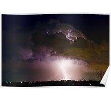 HWY 52 - 08-15-2010 Lightning Storm Image 42 Poster