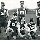 Southborough Boy`s Club Cross Country Team 1951. by Brunoboy