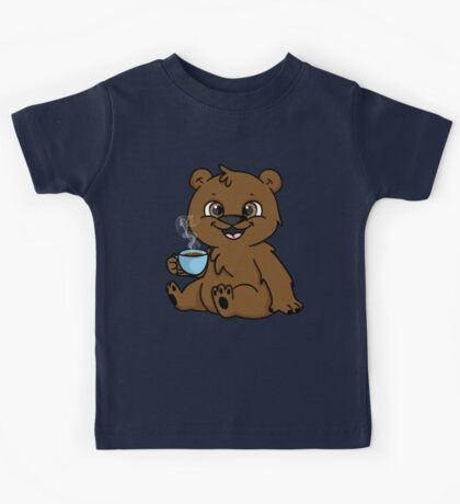 Coffee Bear  Kids Tee