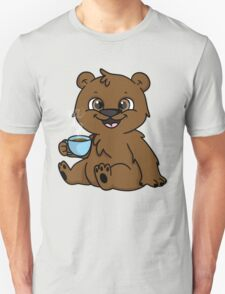 Coffee Bear  Unisex T-Shirt