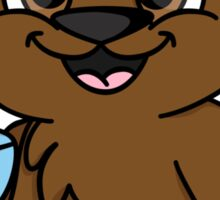 Coffee Bear  Sticker