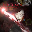 RED SONIA ,BLOOD WARS by Ray Jackson