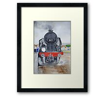 At the station Framed Print