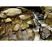 still water flows. Photographic Print