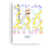 Girls' Generation (SNSD) Seohyun 'Party' Canvas Print