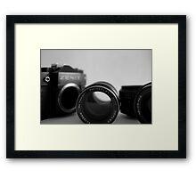 1980's SLR - Zenit TTL  Framed Print