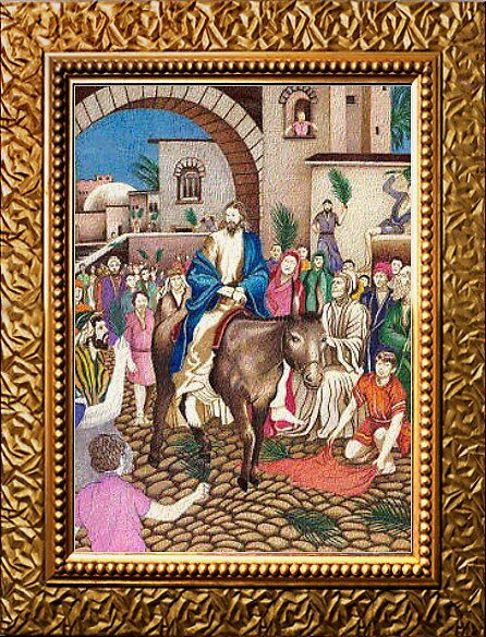 Entering Jerusalem by Jerry  Stith
