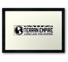 Terran Empire Framed Print