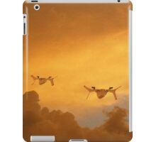 Orange Gulls iPad Case/Skin