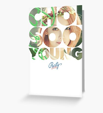 Girls' Generation (SNSD) Sooyoung 'Party' Greeting Card