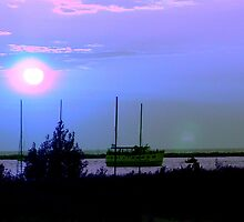 Dinner Cruise in Blue - Muskegon, MI by Deb  Badt-Covell