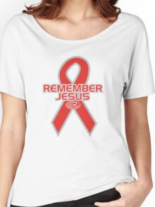 Remember Jesus Women's Relaxed Fit T-Shirt