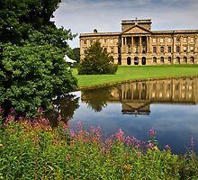 Lyme park mansion house by Shaun Whiteman