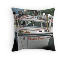 Voodoo Canoe Throw Pillow