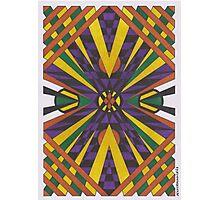 Purple Cross Photographic Print