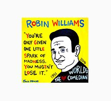 Robin Williams pop folk art Unisex T-Shirt