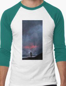 Sunset Over Childs Meadow. Men's Baseball ¾ T-Shirt